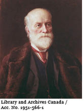 Portrait of Sir Sandford Fleming by John Wycliffe Lowes Forester, 1892