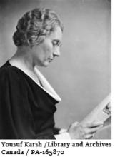Portrait of Agnes MacPhail, 15 May 1934