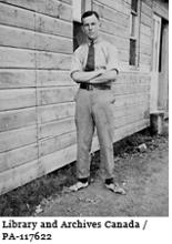 Image of Lester B. Pearson while serving with the Canadian Army Medical Corps 1916